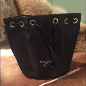 Prada Auth ! Easy Pack Travel/ Cosmetic With card